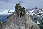 Climbers on Magic Mountain, North Cascades National Park, Washington