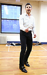 """Tony Yazbeck during a Performance Sneak Peek of The MCP Production of """"The Scarlet Pimpernel"""" at Pearl Rehearsal studio Theatre on February 14, 2019 in New York City."""