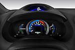 Instrument panel close up detail view of a 2010 Honda Insight