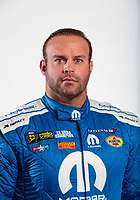 Feb 6, 2020; Pomona, CA, USA; NHRA funny car driver Matt Hagan poses for a portrait during NHRA Media Day at the Pomona Fairplex. Mandatory Credit: Mark J. Rebilas-USA TODAY Sports