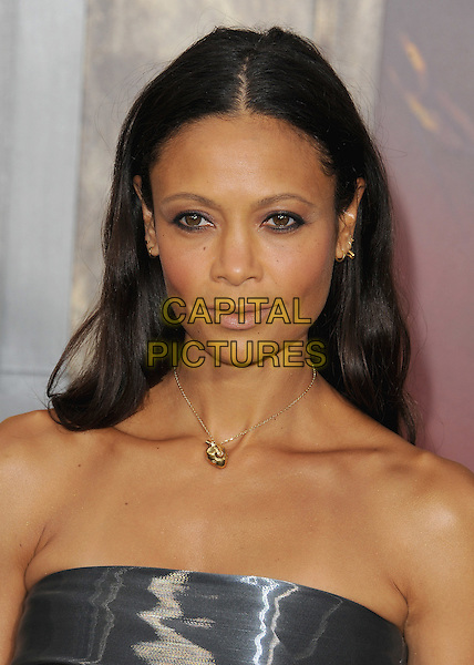 HOLLYWOOD, CA - MAY 7:  Thandie Newton at the Los Angeles premiere of &quot;Mad Max: Fury Road&quot; at the TCL Chinese Theatre on May 7, 2015 in Hollywood, California. <br /> CAP/MPI/PGSK<br /> &copy;PGSK/MediaPunch/Capital Pictures