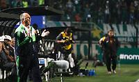 ATENÇÃO EDITOR: FOTO EMBARGADA PARA VEÍCULOS INTERNACIONAIS - SÃO PAULO,SP,02 SETEMBRO 2012 - CAMPEONATO BRASILEIRO - PALMEIRAS x SPORT L uis Felipe Scolare tecnico  do Palmeiras durante partida Palmeiras x Sport  válido pela 22º rodada do Campeonato Brasileiro no Estádio Paulo Machado de Carvalho (Pacaembu), na região oeste da capital paulista na noite desta quinta feira  (06).(FOTO: ALE VIANNA -BRAZIL PHOTO PRESS).