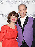 Margo Lion and John Waters attend 2015 Vineyard Theatre Gala honoring Margo Lion at Edison Ballroom on March 30, 2015 in New York City.
