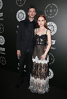 SANTA MONICA, CA - JANUARY 6: Travis Mills and Madelaine Petsch at Art of Elysium's 11th Annual HEAVEN Celebration at Barker Hangar in Santa Monica, California on January 6, 2018. <br /> CAP/MPI/FS<br /> &copy;FS/MPI/Capital Pictures