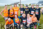 Born to Run runners Front: Myra O'Sullivan, Anna Sheehy, Kieran Nolan, Catherine Whelan and Ruth O'Halloran. Back from left: Cindy O'Shea, Helen Finn, Louise Porter, Eileen McDonnell, Anne O'Shea, Marie O'Shea and Tracey Fitzgerald pictured at the Banna 10K run on Sunday morning.