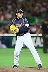 Kazuhisa Makita (JPN), .MARCH 2, 2013 - WBC : .2013 World Baseball Classic .1st Round Pool A .between Japan 5-3 Brazil .at Yafuoku Dome, Fukuoka, Japan. .(Photo by YUTAKA/AFLO SPORT)