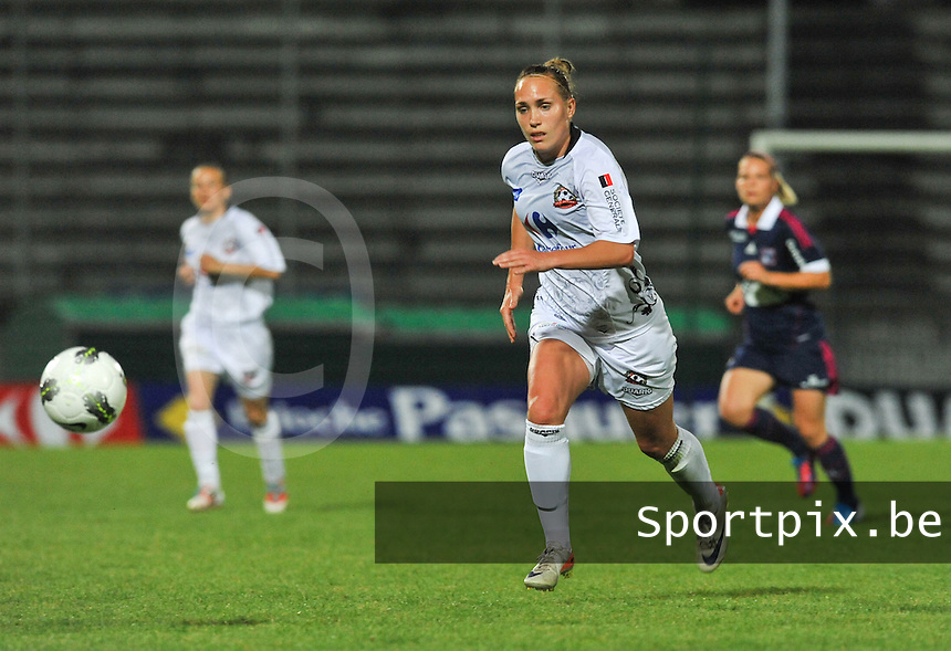 Football Club Feminin Juvisy Essonne - Olympique Lyon :.Janice Cayman.foto DAVID CATRY / JOKE VUYLSTEKE / Vrouwenteam.be