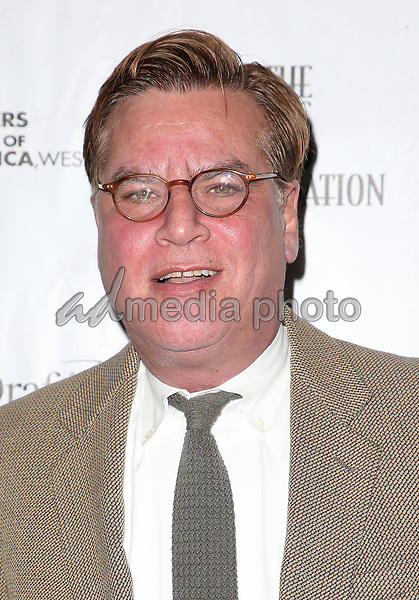 "01 February 2018 - Beverly Hills, California - Aaron Sorkin. 2018 Writers Guild ""Beyond Words"". Photo Credit: F. Sadou/AdMedia"