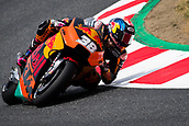June 9th 2017, Circuit de Catalunya, Barcelona, Spain; Catalunya MotoGP; Friday Practice Session; Bradley Smith of Red Bull KTM Factory Team rides during free practice