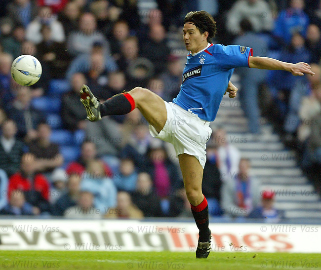 Michael Mols, Rangers.Stock Season 2003-2004.pic willie vass