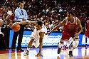 December 14, 2013: Deverell Biggs (1) of the Nebraska Cornhuskers dribbling to the hoop against Ed Townsel (24) of the Arkansas State Red Wolves at the Pinnacle Bank Areana, Lincoln, NE. Nebraska defeated Arkansas State 79 to 67.