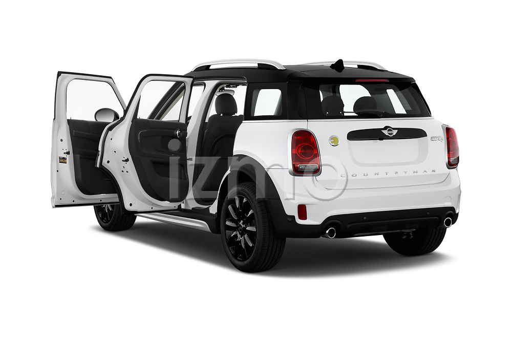 Car images close up view of a 2018 Mini Countryman S 5 Door Hatchback doors