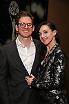 Lena Hall and guest  attends 32nd Annual Lucille Lortel Awards at NYU Skirball Center on May 7, 2017 in New York City.