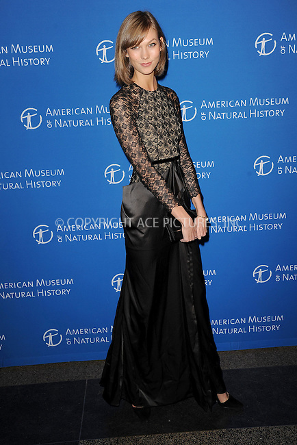 WWW.ACEPIXS.COM <br /> November 21, 2013 New York City<br /> <br /> Karlie Kloss attending the American Museum of Natural History's 2013 Museum Gala at American Museum of Natural History on November 21, 2013 in New York City.<br /> <br /> Please byline: Kristin Callahan  <br /> <br /> ACEPIXS.COM<br /> Ace Pictures, Inc<br /> tel: (212) 243 8787 or (646) 769 0430<br /> e-mail: info@acepixs.com<br /> web: http://www.acepixs.com
