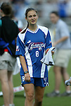 9 August 2003: Breanna Boyd of Canada. The Carolina Courage tied the Philadelphia Charge 1-1 at SAS Stadium in Cary, NC in the final regular season WUSA game.