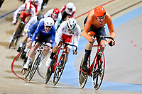 Picture by SWpix.com - 03/03/2018 - Cycling - 2018 UCI Track Cycling World Championships, Day 4 - Omnisport, Apeldoorn, Netherlands - Men's Omnium - Jan Willem van Schip of Holland