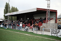 General view of Carshalton Athletic FC Football Ground, War Memorial Sports Ground, Colston Avenue, Carshalton, London, pictured on 4th May 1996
