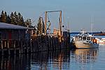 Owls Head Harbor, Maine, USA