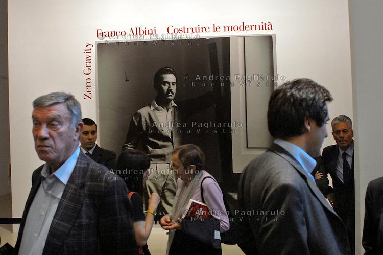 Milano, Triennale. Mostra Franco Albini.<br /> Milan, Triennale. Franco Albini's exhibition.