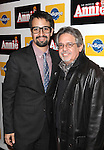 Lin-Manuel Miranda & father  attending the Broadway Opening Night Performance of 'Annie' at the Palace Theatre in New York City on 11/08/2012