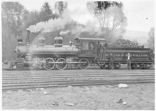Engine #171.<br /> D&amp;RG