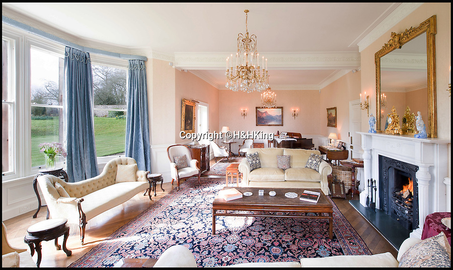 BNPS.co.uk (01202 558833)<br /> Pic: H&HKing/BNPS<br /> <br /> Safe as houses...The country retreat of former Tory grandee Willie Whitelaw comes with high level security.<br /> <br /> This stunning manor comes with more protection than your standard burglar alarm - it's got bulletproof windows.<br /> <br /> Ennim in Blencow, Cumbria, was the home of prominent politician and Margaret Thatcher's right-hand man William Whitelaw for 43 years until his death.<br /> <br /> Due to his role as Secretary of State for Northern Ireland in 1972 the house was fitted with bulletproof glass and a substantial police presence was maintained at the house throughout his time there, even after he retired.<br /> <br /> Now the house has been updated and is a beautiful family country home with nine acres of land on the market with H&H King for £1,695,000.
