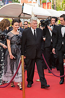 Emily Stofle, David Lynch at the premiere for 'Twin Peaks' at the 70th Festival de Cannes. <br /> May 25, 2017 Cannes, France<br /> Picture: Kristina Afanasyeva / Featureflash