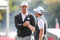 Andy Sullivan (Team Europe) ends another successful practice 9 holes during Thursday's Practice Round ahead of The 2016 Ryder Cup, at Hazeltine National Golf Club, Minnesota, USA.  29/09/2016. Picture: David Lloyd | Golffile.