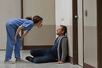 Aaron Eckhart &amp; Carice van Houten in Incarnate (2016) <br /> *Filmstill - Editorial Use Only*<br /> CAP/RFS<br /> Image supplied by Capital Pictures