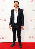 NEW YORK CITY, NY, USA - AUGUST 11: Actor Brenton Thwaites arrives at the New York Premiere Of The Weinstein Company's 'The Giver' held at the Ziegfeld Theatre on August 11, 2014 in New York City, New York, United States. (Photo by Celebrity Monitor)