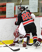 Deborah Conway (Harvard - 11), Katy Applin (NU - 20) - The Harvard University Crimson defeated the Northeastern University Huskies 1-0 to win the 2010 Beanpot on Tuesday, February 9, 2010, at the Bright Hockey Center in Cambridge, Massachusetts.
