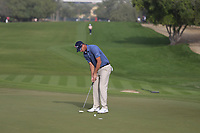 Nicolas Colsaerts (BEL) on the 3rd during Round 2 of the Omega Dubai Desert Classic, Emirates Golf Club, Dubai,  United Arab Emirates. 25/01/2019<br /> Picture: Golffile | Thos Caffrey<br /> <br /> <br /> All photo usage must carry mandatory copyright credit (© Golffile | Thos Caffrey)