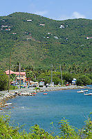Coral Bay, St. John.U.S. Virgin Islands