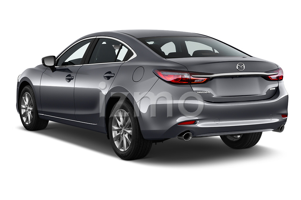 Car pictures of rear three quarter view of a 2018 Mazda Mazda6 Sport 4 Door Sedan angular rear