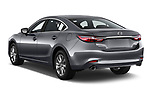 Car pictures of rear three quarter view of a 2019 Mazda Mazda6 Sport 4 Door Sedan angular rear