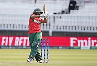 Mahmudullah (Bangladesh) is hurried by a short delivery from Riaz during Pakistan vs Bangladesh, ICC World Cup Cricket at Lord's Cricket Ground on 5th July 2019