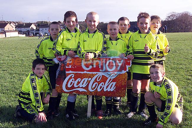 East Meath Under 9's ;Mark McPhilips,Daragh Drone,Sean Dunne,Niall Murtagh,Stephen Murtagh,Conor Whelan,Craig Geoghegan,Robert,Brown,Daragh Flanagan.