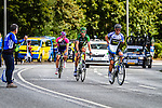 Breakaway with Netapp-Endura, Vattenfall Cyclassics, Hamburg, Germany, 24 August 2014, Photo by Thomas van Bracht