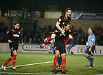 Bilel Mohsni celebrates his goal with Jon Daly