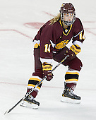 Jordan Krause (UMD - 14) - The visiting University of Minnesota Duluth Bulldogs defeated the Boston College Eagles 3-2 on Thursday, October 25, 2012, at Kelley Rink in Conte Forum in Chestnut Hill, Massachusetts.