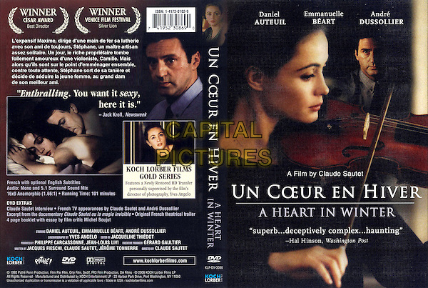 Un Coeur en Hiver (1992)<br /> poster art<br /> *Filmstill - Editorial Use Only*<br /> CAP/PLF<br /> Supplied by Capital Pictures