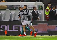 Marvin Plattenhardt (Deutschland Germany) kommt mit Julian Draxler (Deutschland, Germany) ins STadion - 27.03.2018: Deutschland vs. Brasilien, Olympiastadion Berlin