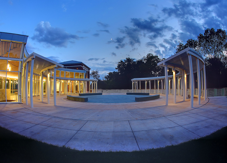 The newly completed UVa South Lawn Project on campus at the University of Virginia in Charlottesville, VA. Photo/Andrew Shurtleff