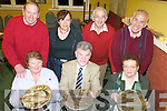 MEALS ON WHEELS: Members of Listry Community Council launching details of their new meals-on-wheels service, front l-r: Mary O'Regan, Tony Darmody (Chairman), Joan Curran. Back, l-r: George Kelly, Christina Murphy, Jim O'Shea and Ted Scannell.   Copyright Kerry's Eye 2008