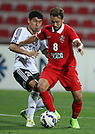 Al Ahli (UAE) vs Al Nasaf during the 2015 AFC Champions League Group D  on March 03, 2015 at the Rashid Stadium, in Dubai, UAE. Photo by Adnan Hajj /  World Sport Group