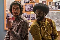 BlacKkKlansman (2018) <br /> Adam Driver &amp; John David Washington<br /> *Filmstill - Editorial Use Only*<br /> CAP/MFS<br /> Image supplied by Capital Pictures