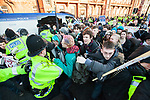 © Joel Goodman - 07973 332324 - all rights reserved . 29/01/2011, Manchester , UK . Thousands of students , lecturers , trades unionists and supporters protest in Manchester against increased fees and cuts in Education Maintenance Allowance . Photo credit : Joel Goodman
