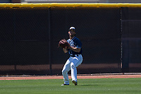 San Diego Padres outfielder Nate Easley (3) during an Extended Spring Training game against the Colorado Rockies at Peoria Sports Complex on March 30, 2018 in Peoria, Arizona. (Zachary Lucy/Four Seam Images)