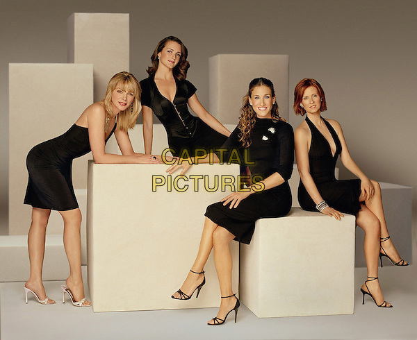 KIM CATTRALL, KRISTIN DAVIS, SARAH JESSICA PARKER &  CYNTHIA NIXON.in Sex & The City.*Editorial Use Only*.www.capitalpictures.com.sales@capitalpictures.com.Supplied by Capital Pictures.
