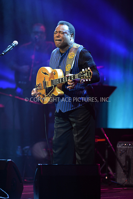 WWW.ACEPIXS.COM<br /> <br /> May 10 2016, <br /> <br /> Musician George Benson performs at Hard Rock Live at the Seminole Hard Rock Hotel &amp; Casino on May 10, 2016 in Hollywood, Florida.<br /> <br /> <br /> By Line: Solar/ACE Pictures<br /> <br /> <br /> ACE Pictures, Inc.<br /> tel: 646 769 0430<br /> Email: info@acepixs.com<br /> www.acepixs.com